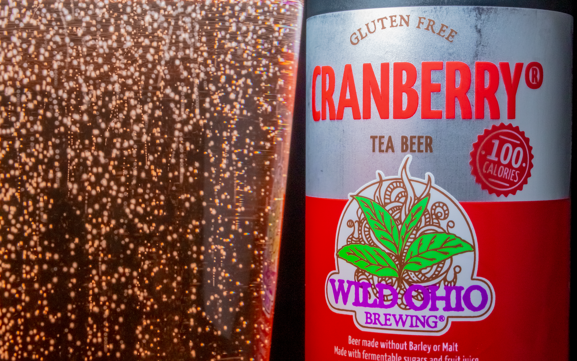 Wild Ohio Cranberry Tea Beer